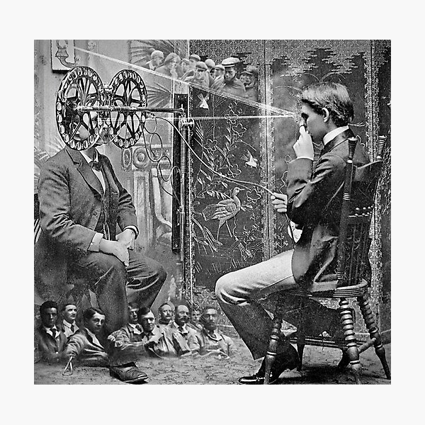 Marinetti's Interrogation about War Crimes. Photographic Print