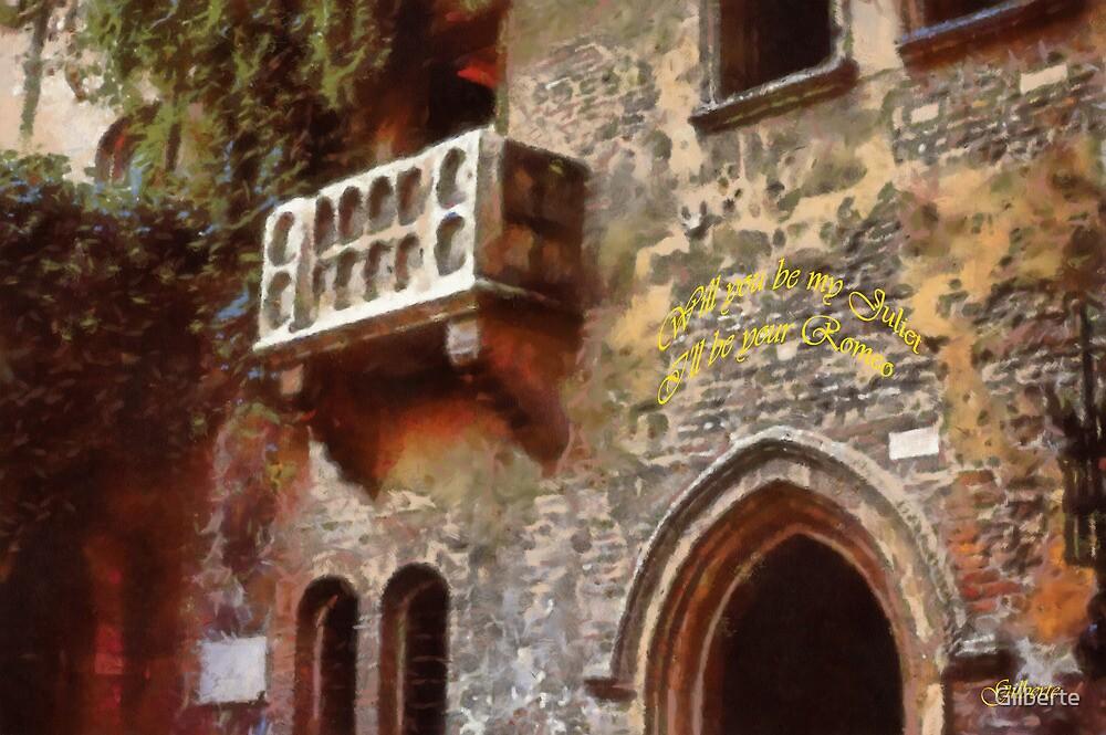 Verona - Juliet's balcony by Gilberte