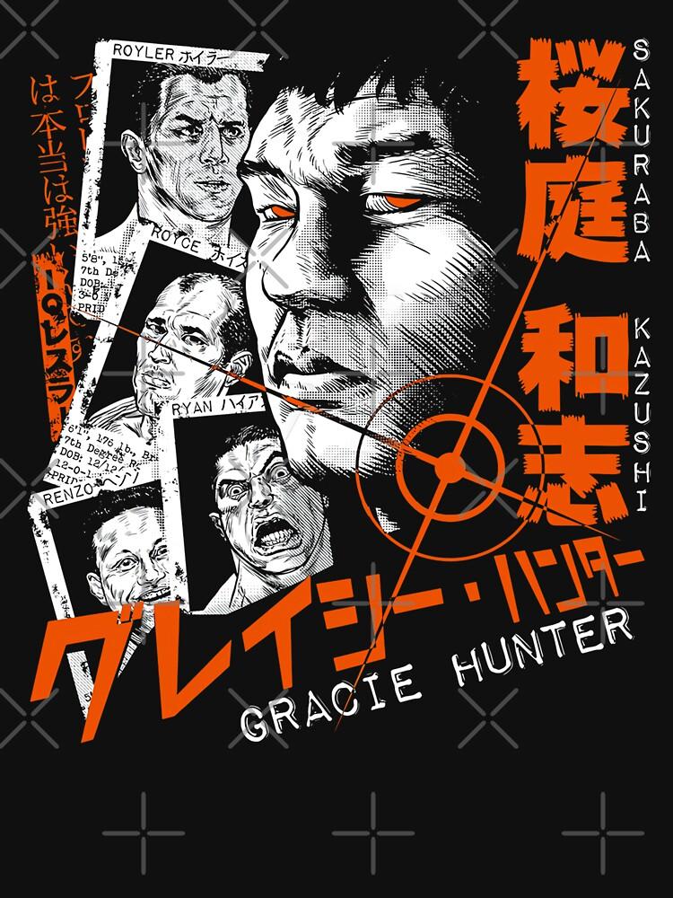 Sakuraba The Gracie Hunter by novinov