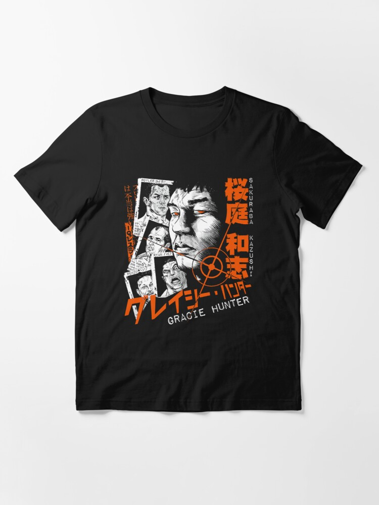 Alternate view of Sakuraba The Gracie Hunter Essential T-Shirt