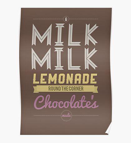 Milk, Milk, Lemonade.... Poster