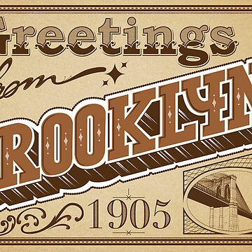 Greeting from brooklyn. by robay