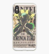 Vinilo o funda para iPhone Roronoa Zoro
