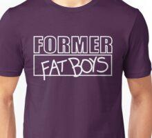 Former Fat Boys Logo Tee - White Logo Unisex T-Shirt