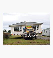 Mobile Home Photographic Print