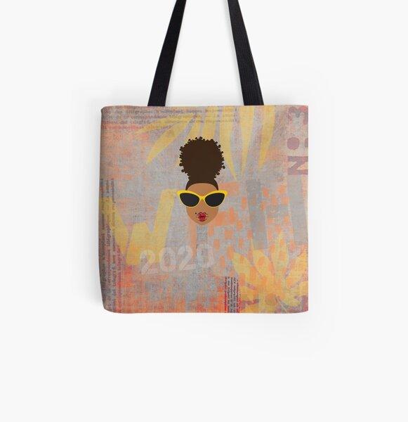 #WFH All Over Print Tote Bag