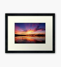 Koolewong sunrise Framed Print