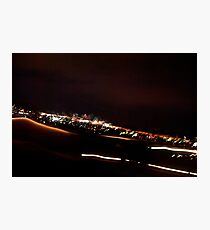 City lights II Photographic Print