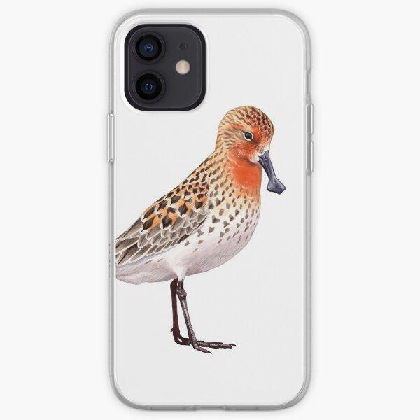 Spoon-billed Sandpiper iPhone Soft Case
