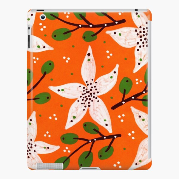 Orange bloom and willow iPad Snap Case