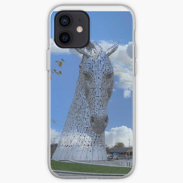 The Kelpies gifts , Helix Park, Falkirk, Scotland, iPhone Soft Case