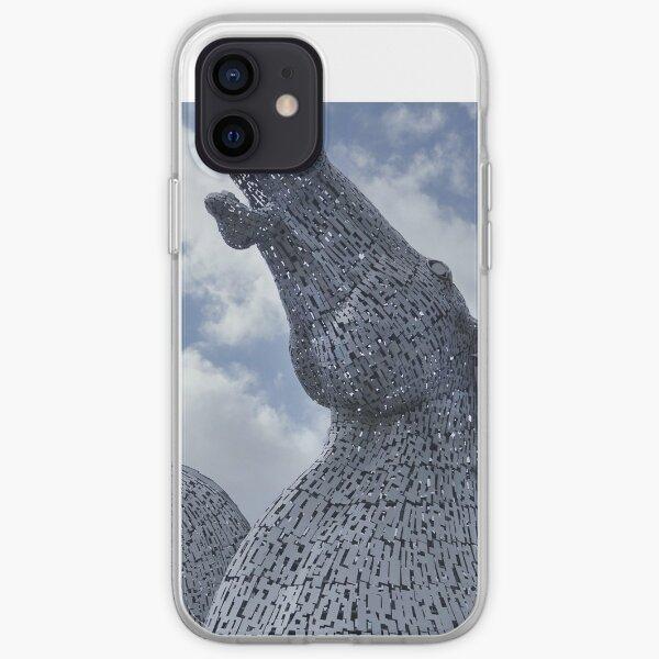 The Kelpies gifts , Helix Park, Falkirk, Scotland iPhone Soft Case
