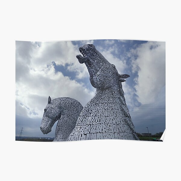 The Kelpies gifts , Helix Park, Falkirk, Scotland Poster