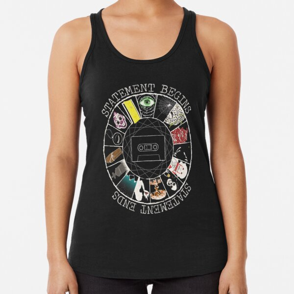 The Magnus Archives Entities Racerback Tank Top