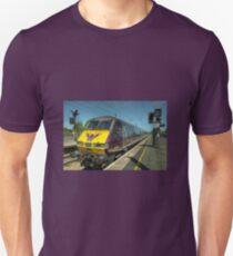Flying Scotsman at Morpeth  Unisex T-Shirt