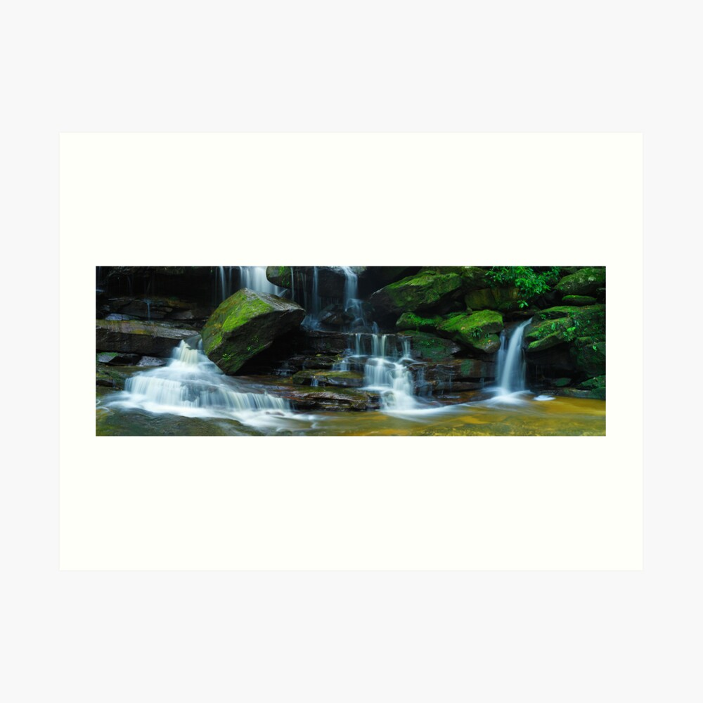 Lower Somersby Falls, New South Wales, Australia Art Print