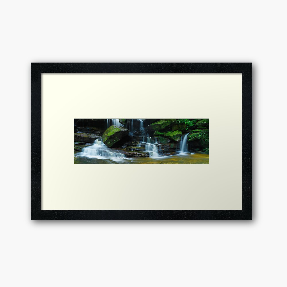 Lower Somersby Falls, New South Wales, Australia Framed Art Print