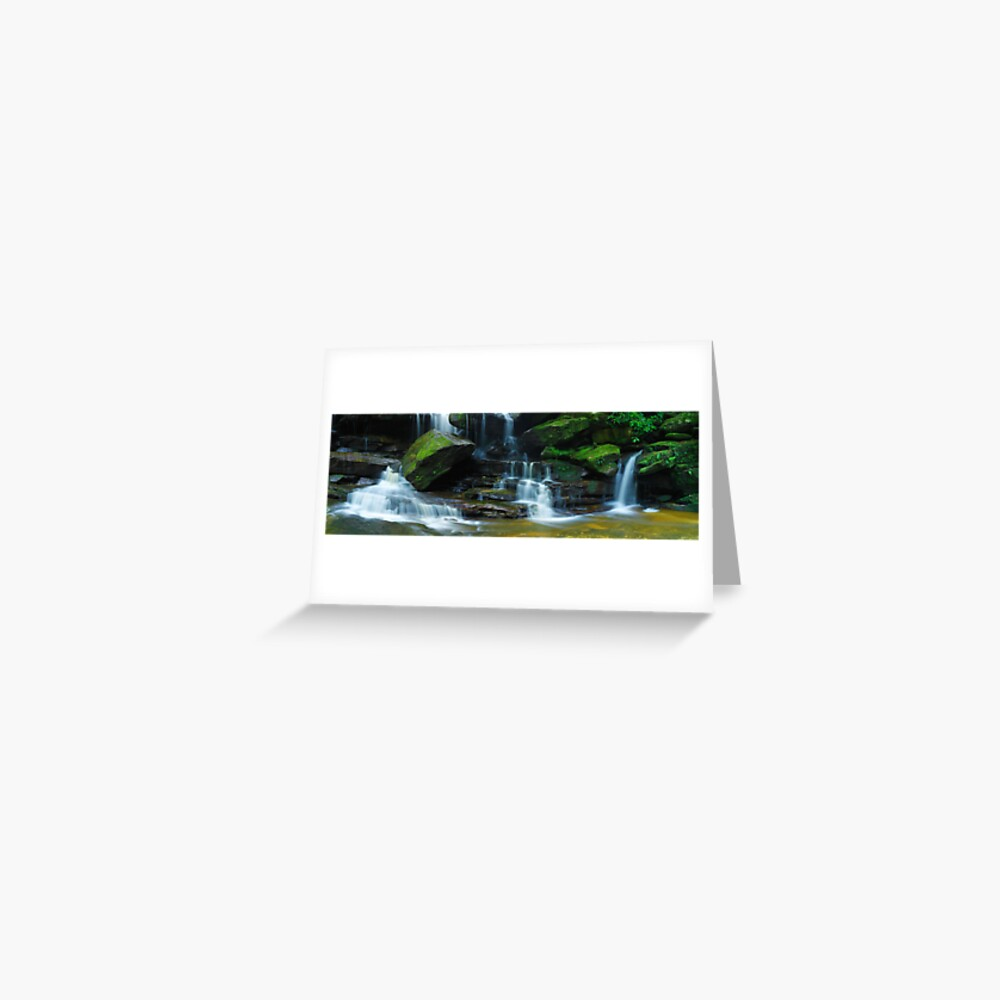 Lower Somersby Falls, New South Wales, Australia Greeting Card