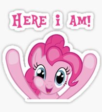 Here I Am! Sticker