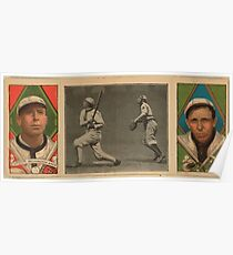 Benjamin K Edwards Collection Robert Groom Dolly Gray Washington Nationals baseball card portrait Poster