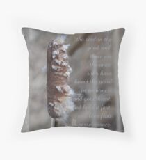 the seed in good soil (for sarnia2) Throw Pillow
