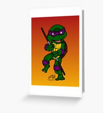 Donatello Teenage Mutant Ninja Turtles Greeting Card