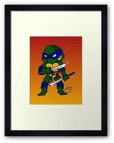 Leonardo Teenage Mutant Ninja Turtles by EdMedArt