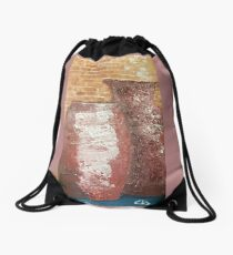 POTS OF 3 Drawstring Bag