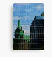 Capital Reflections Canvas Print