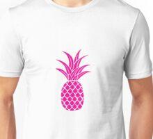 Bright Pink Pineapple  Unisex T-Shirt