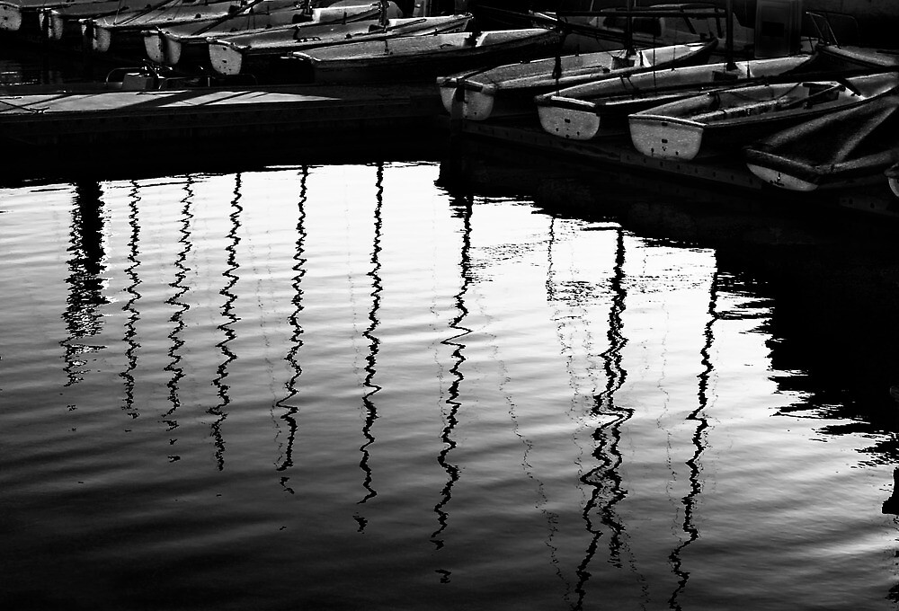 Harbor Reflections by Rondo93