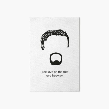 The Office David Brent Watercolor Art Print Picture Wall Framed Canvas Minimal