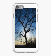 Tree Silhouette - iCase iPhone Case/Skin