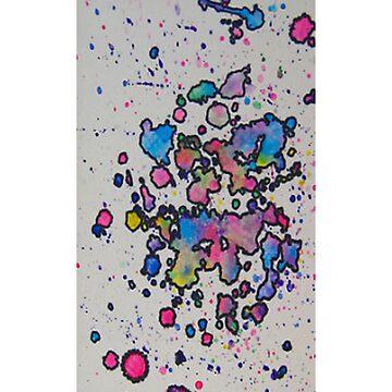 Watercolor Boredum - iCase by hallucingenic