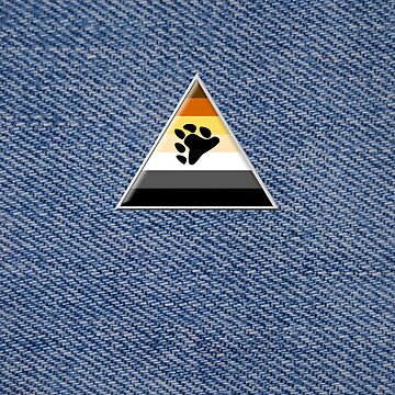 Bear Triangle on Denim by x-pressions