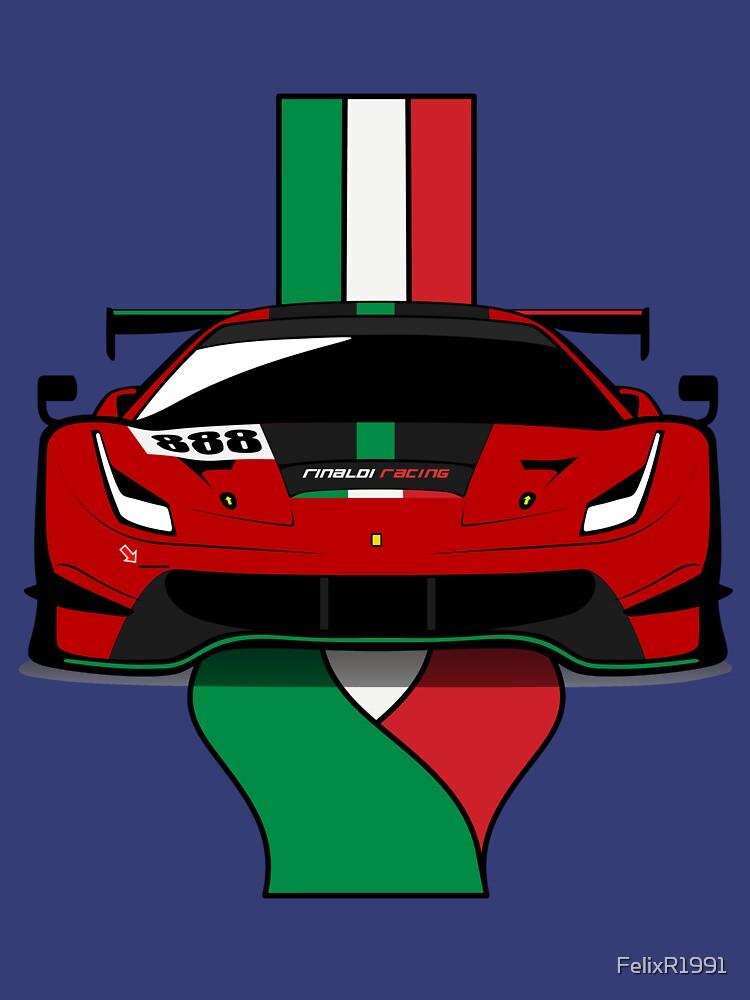 2020 488GT3 Evo Rinaldi Racing by FelixR1991