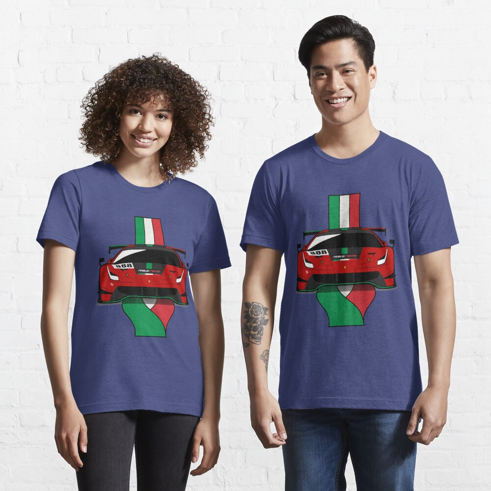 2020 488GT3 Evo Rinaldi Racing Essential T-Shirt