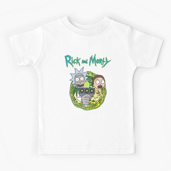 Portal  Rick and Morty Kids T-Shirt