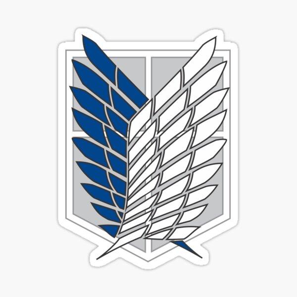 Blason Attaque des Titans bataillon d'exploration Sticker