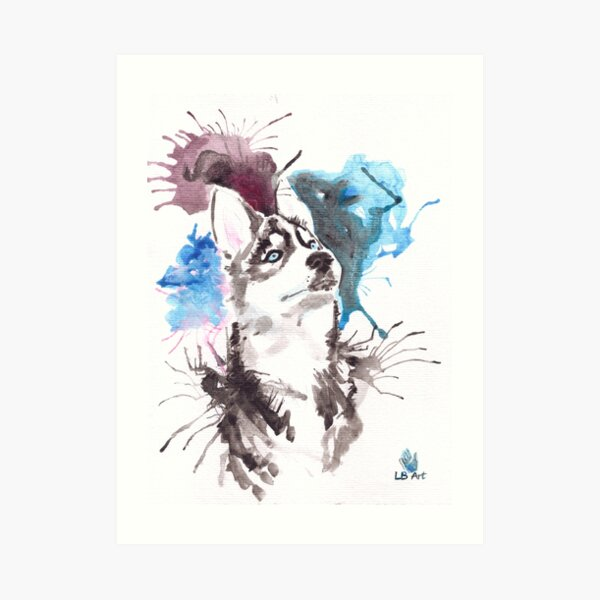 Husky Impression artistique