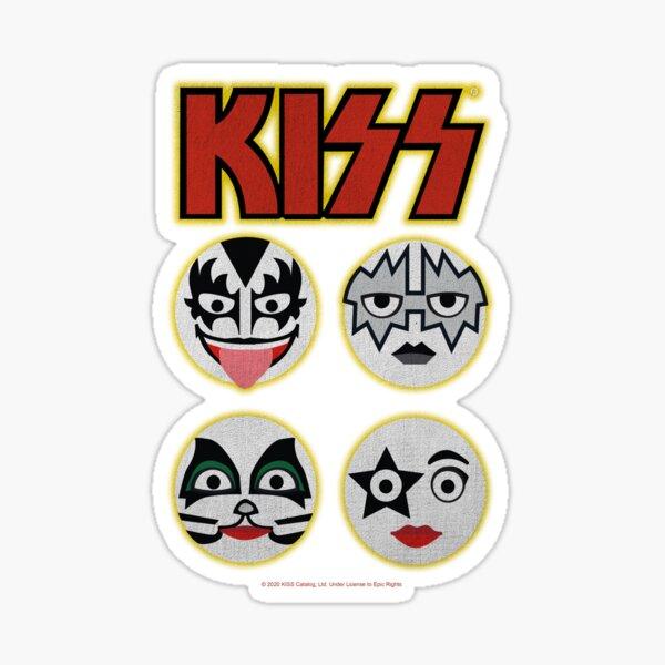 KISS (Icon Design) Sticker