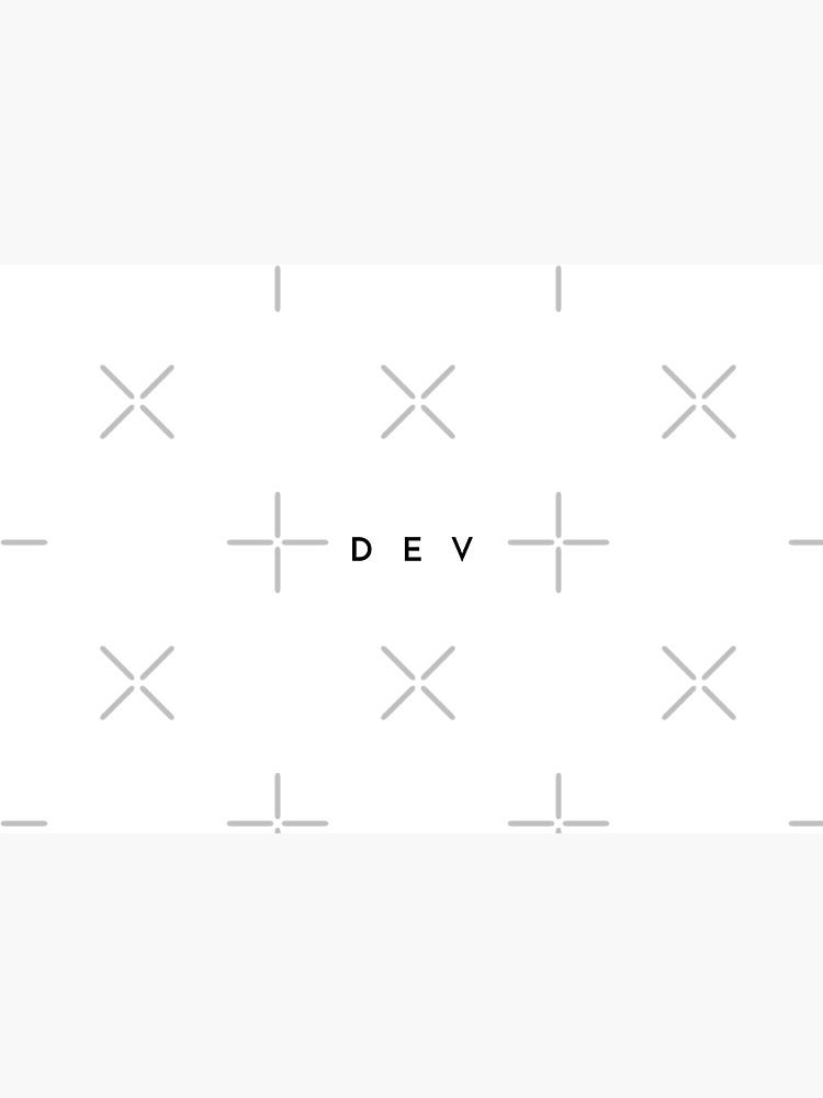 Dev (minimal) (Inverted) by developer-gifts