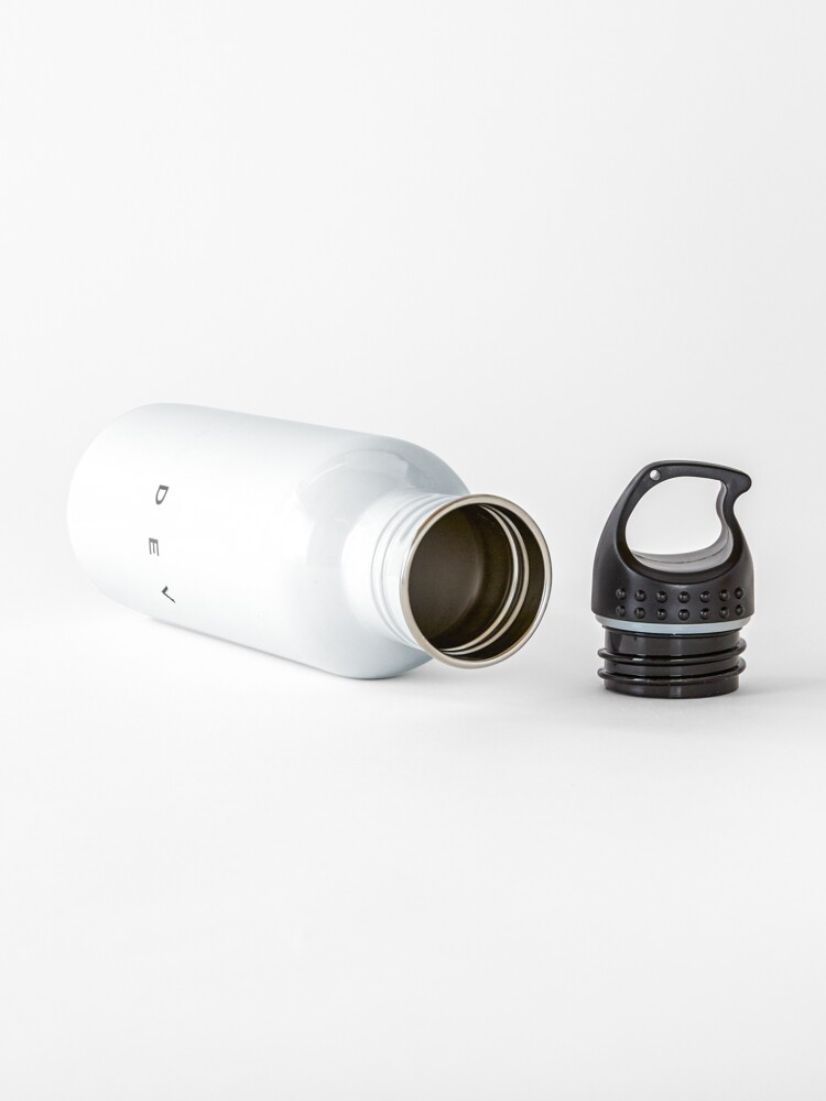 Alternate view of Dev (minimal) (Inverted) Water Bottle