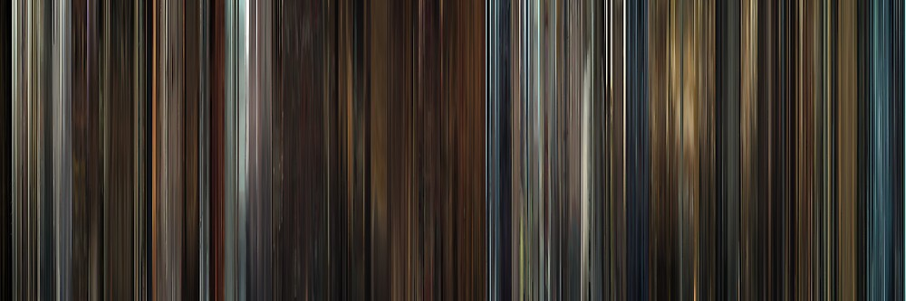 Moviebarcode: In Bruges (2008) by moviebarcode