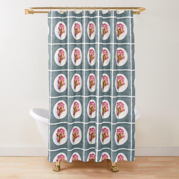 Parched Wrinkled Rose Shower Curtain