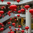 Red Lanterns by Antoine de Paauw