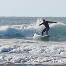 Surfing Cornwall by Brian Roscorla