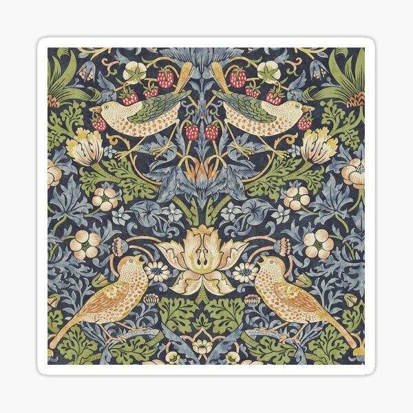 William Morris pattern Sticker