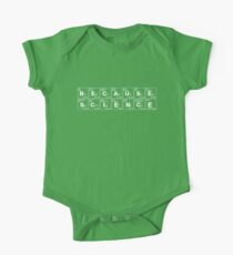 BECAUSE SCIENCE! (white) Kids Clothes