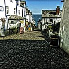 Clovelly, Cornwall by hans peðer alfreð olsen